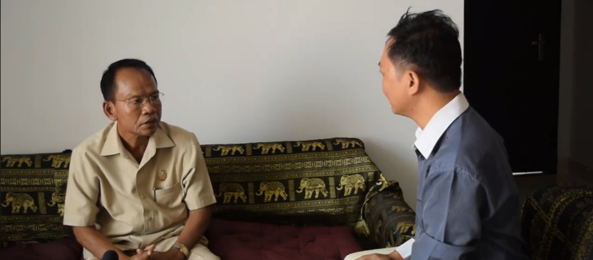 Interview with H.E HY YOEUN, Govt Official